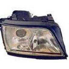 указатель поворота угловой левый (depo) бел для AUDI A6 с 1994 по 1997