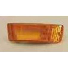 указатель поворота нижний левый в бампер желтый (КУПЕ 87-91 CABRIO 87-93) для AUDI 80 B3 с 1987 по 1991