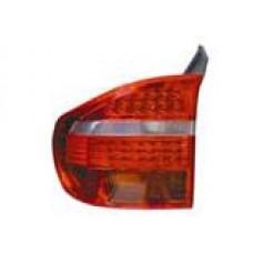 фонарь задний внешний л+п (комплект) тюнинг диод стоп сигнал хрустал красн-бел для BMW E70 X5 с 2007 и далее
