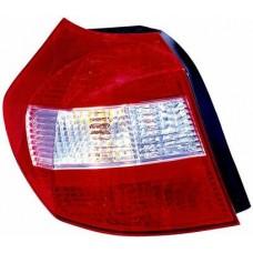 фонарь задний внешний левый красн-бел для BMW E87 с 2003 по 2006