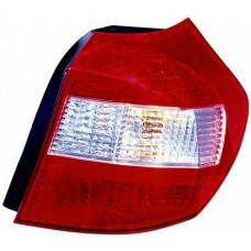 фонарь задний внешний правый красн-бел для BMW E87 с 2003 по 2006