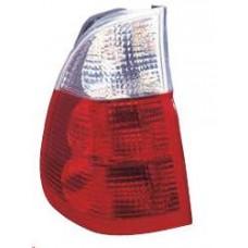 фонарь задний внешний левый красн-бел для BMW E53 X5 с 2004 и далее