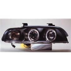 стекло фары левое в сборе бел для BMW E39 с 1996 по 1999