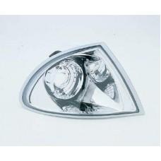указатель поворота угловой л+п (комплект) (седан) тюнинг прозрач (sonar) внутри хром для BMW E46 СЕДАН с 1998 по 2001