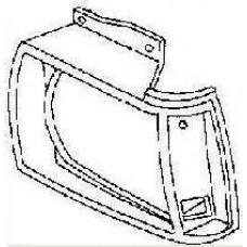 решетка радиатора левая хром для CHEVROLET BLAZER с 1983 по 1990