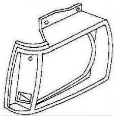 решетка радиатора правая хром для CHEVROLET BLAZER с 1983 по 1990
