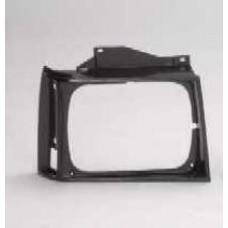 решетка радиатора правая черная для CHEVROLET BLAZER с 1983 по 1990