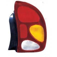 фонарь задний внешний левый (седан) chevrolet хрустал красн-бел для CHEVROLET LANOS с 1998 и далее