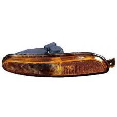 указатель поворота нижний правый в бампер без отверстия под омыват фар желтый для CHRYSLER 300M с 1999 по 2004