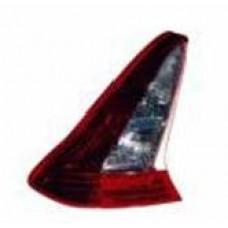 фонарь задний внешний левый (3 дв) хрустал для CITROEN C4 с 2008 и далее