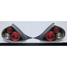 фонарь задний внешний л+п (комплект) тюнинг (седан) прозрач (lexus тип) (sonar) внутри черный для DODGE NEON с 2000 по 2002