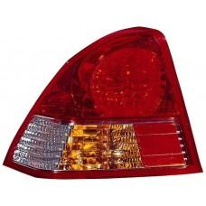фонарь задний внешний левый (седан) ук.повор желтый для HONDA CIVIC КУПЕ с 2000 по 2004