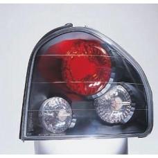 фонарь задний внешний л+п (комплект) тюнинг прозрач (sonar) внутри черный для HYUNDAI SANTA FE с 2001 по 2004