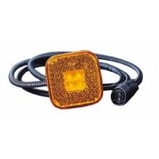 фонарь габаритный л=п желтый для MAN TGA с 2000 по 2007
