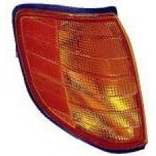 указатель поворота угловой правый желтый для MERCEDES W140 SEDAN с 1992 по 1994