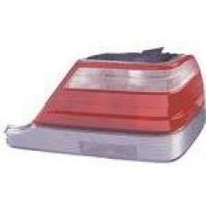 фонарь задний внешний л+п (комплект) с центр молдинг тюнинг стоп сигнал диод хрустал бел-красн для MERCEDES W140 SEDAN с 1996 по 1998
