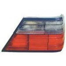 стекло фонаря заднее внешнее левое тонированное-красн для MERCEDES W124 с 1993 по 1995
