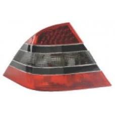фонарь задний внешний л+п (комплект) дизайн w221 с диод с черный молдинг красн-тонированный для MERCEDES W220 с 1998 и далее