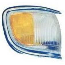 указатель поворота угловой правый с хром молдинг бел-желтый для NISSAN PATHFINDER R50 USA с 1996 по 1998