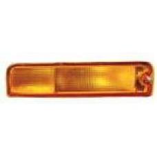 указатель поворота нижний левый в бампер желтый для NISSAN PATHFINDER R50 USA с 1996 по 1998
