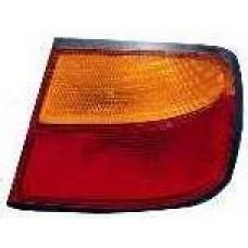 фонарь задний внешний правый (4 дв) желтый-красн для NISSAN PRIMERA P11 с 1997 по 1998