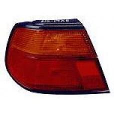 фонарь задний внешний левый (5 дв) красн-желтый для NISSAN ALMERA N15 с 1995 по 1997