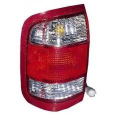фонарь задний внешний левый красн-бел для NISSAN PATHFINDER R50 USA с 1999 по 2004