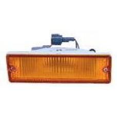 указатель поворота нижний правый в бампер желтый для NISSAN PATHFINDER WD21 с 1987 по 1995
