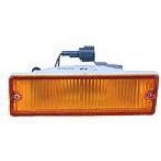 указатель поворота нижний левый в бампер желтый для NISSAN PATHFINDER WD21 с 1987 по 1995