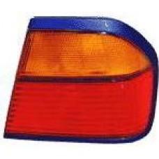 фонарь задний внешний правый (4 дв) желтый-красн для NISSAN PRIMERA P10 с 1991 по 1996