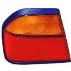 фонарь задний внешний левый (4 дв) желтый-красн для NISSAN PRIMERA P10 с 1991 по 1996