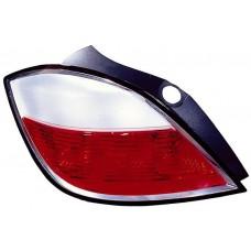фонарь задний внешний левый (5 дв) красн-бел для OPEL ASTRA H с 2004 и далее