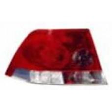 фонарь задний внешний левый (седан) красн-бел для OPEL ASTRA H с 2007 и далее