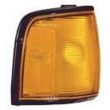 указатель поворота угловой правый с хром рамк желтый для OPEL FRONTERA с 1992 по 1996