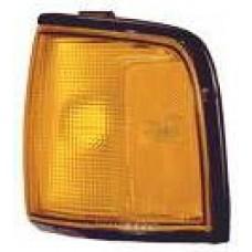 указатель поворота угловой левый с хром рамк желтый для OPEL FRONTERA с 1992 по 1996