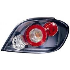 фонарь задний внешний л+п (комплект) тюнинг прозрач (lexus тип) внутри серебристо-серый для PEUGEOT 307 с 2001 и далее