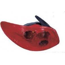 фонарь задний внешний левый для PEUGEOT 206 с 1998 по 2002
