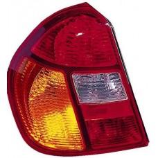 фонарь задний внешний левый (4 дв) красн-желтый для RENAULT CLIO-5ДВ с 1998 и далее