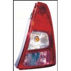 фонарь задний внешний правый (depo) красн-бел для RENAULT LOGAN с 2010 и далее