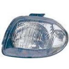 фара левая п/корректор (5 дв) (КРОМЕ СЕДАНА) для RENAULT CLIO-5ДВ с 1998 по 2000