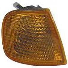 повторитель поворота в крыло л=п овальн (китай) тонированный для SEAT IBIZA с 1995 по 1997