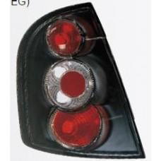 фонарь задний внешний л+п (комплект) тюнинг (хэтчбэк) хрустал (sonar) внутри черный для SKODA FABIA с 2005 и далее