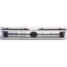 решетка радиатора серебристо-серая для SUBARU LEGACY с 1990 по 1992