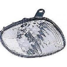 указатель поворота угловой правый бел для TOYOTA COROLLA 110 LHD с 2000 по 2001