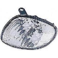 указатель поворота угловой левый бел для TOYOTA COROLLA 110 LHD с 2000 по 2001