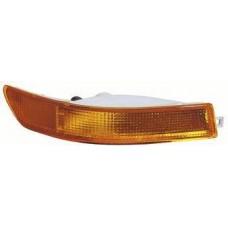 указатель поворота нижний правый в бампер (4 дв) (5 дв) желтый для TOYOTA COROLLA EE101 с 1992 по 1997