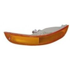 указатель поворота нижний правый в бампер (лифтбэк) желтый для TOYOTA COROLLA AE100 с 1992 по 1995
