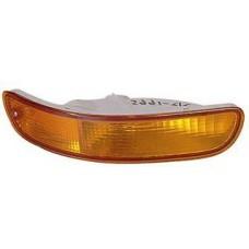указатель поворота нижний правый в бампер (3 дв) желтый для TOYOTA COROLLA EE101 с 1992 по 1995