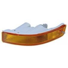 указатель поворота нижний правый в бампер (3 дв) (лифтбэк) желтый для TOYOTA COROLLA EE101 с 1995 по 1997