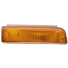 указатель поворота нижний левый в бампер желтый для TOYOTA CARINA II AT171 с 1988 по 1991